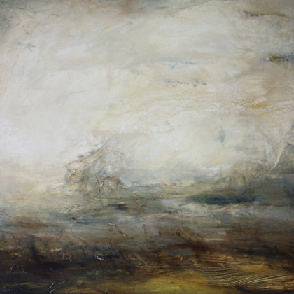 The Journey Home II, Oil on canvas 75 x 60 cm
