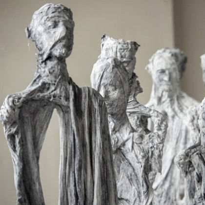 Anna Gillespie What it takes Mixed Media for Bronze h. 196 cm. each (approx.)