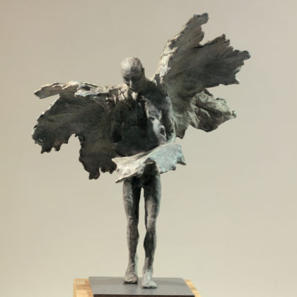 Anna Gillespie Windfall, Bronze Ed. of 9 h31.5 x 26 x 15 cm