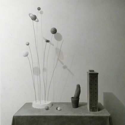 Lewis Chambelain This and Other Worlds, Pencil on paper 67 x 77cm