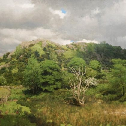 Martin Greenland Nameless Hill, Oil on canvas