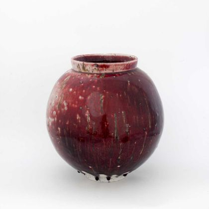 Adam Buick ceramics moon jar