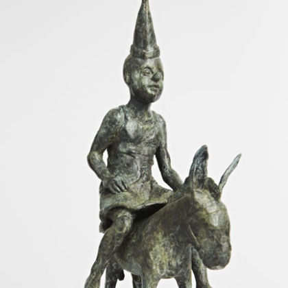 Blind Fools Game, Bronze Ed. 15  21 x 14 x 5 cm
