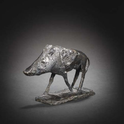 Boar (1967-8) Bronze, Ed.of 7  L.23.9cm