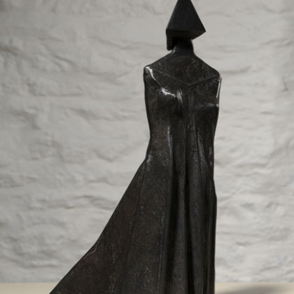 Standing Figure 1988 Bronze  Edition of 9 C75B H 79 cm