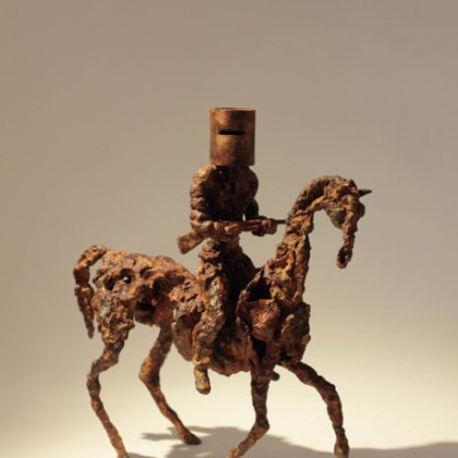Running Ned, Bronze Ed. of 8 h. 25 x 23 x 10 cm
