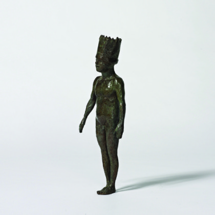 Small King, Bronze Ed. 15  34 x 13 x 7 cm