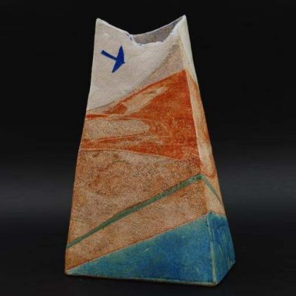 Jill Fanshawe Kato Fly to the Coast 1, Stoneware h34 x 21.5 x 10 cm