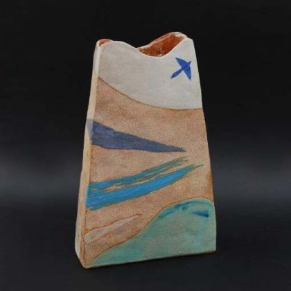 Jill Fanshawe Kato Fly to the Coast 2, Stoneware h34 x 21 x 8 cm