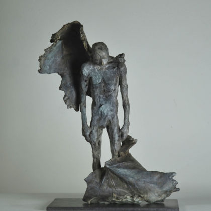 Anna Gillespie Broken, Bronze Ed. of 9 h32 x 22 x 15 cm