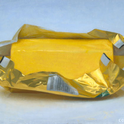 Conor Walton Butter, Oil on linen 20 x 29 cm