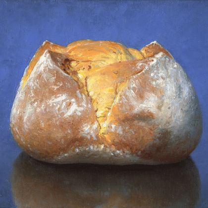Conor Walton Sourdough Oil on Canvas 30 x 40 cm.