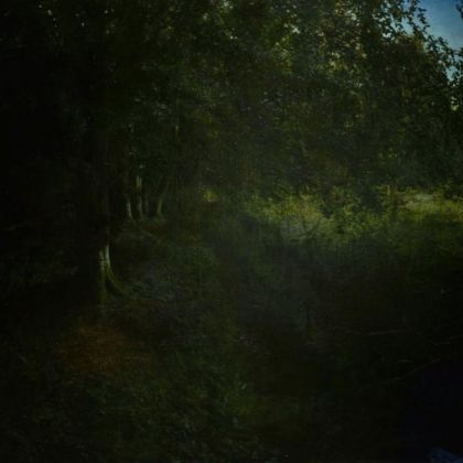 Martin Greenland Setmurthy Forest Memory - Deeper, More Silent, Very Late, Oil on canvas