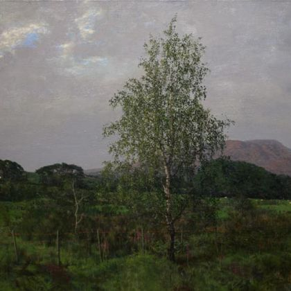 Martin Greenland Elva Plain, Oil on canvas