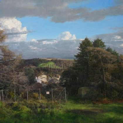 Martin Greenland March Italianate, Oil on canvas 87 x 56cm
