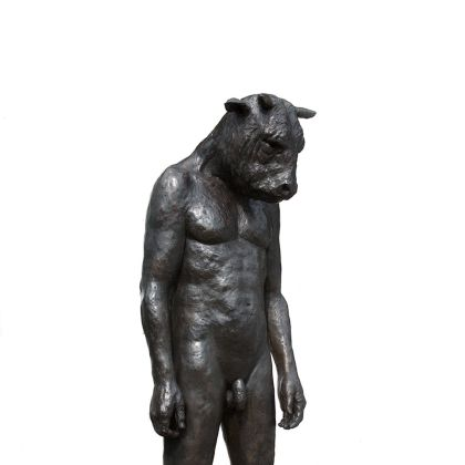 Beth Carter Minotaur (giant), Bronze Ed. of 8 185 x 64 x 62cm