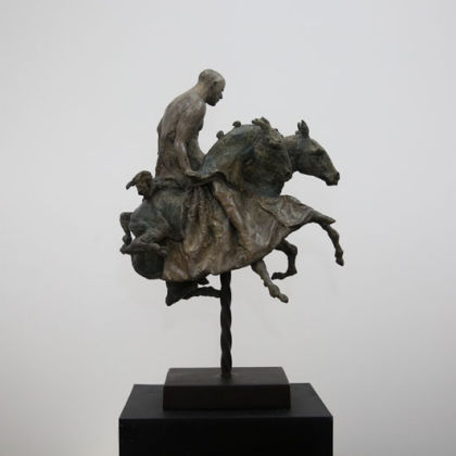 Beth Carter Broken Carnival Bronze, Ed of 10, 70 x 30 x 49cm